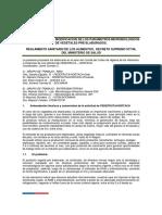 Propuesta Para La Modificación de Los Parametros Microbiologicos
