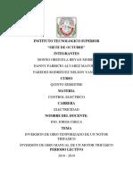 Informe de Checa Bonno, Alvarez, Mi Presente