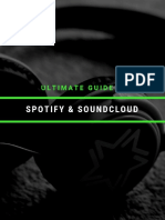 Ultimate Guide to Spotify and Soundcloud