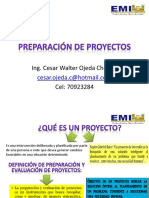 Introduccion a Preparacion y Evaluacion de Proyectos