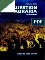 la cuestión agraria en Colombia