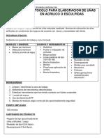 Protocolo Para Postura de Uñas Acrilicas - Copia