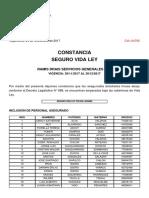 Constancia Renovacion Vida Ley - Diciembre 2017