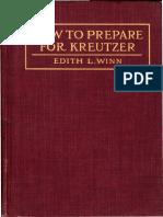 Winn How to Prepare for Kretuzer