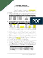 Modelo Para Examen Final de Proyectos de Inversión - 2019 I
