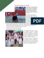 Costumbres Y Tradiciones de Chavín de Huantar