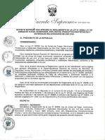 010-2017-In (Aprueban Reglamento de La Ley 30299 Armas de Fuego)