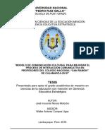 TESIS UNPRG  Modelo de comunicación cultural para mejorar el proceso comunicativo en la EBR del colegio San Ramón de Cajamarca.