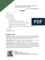 Breves Reflexiones Sobre La Responsabiilidad Penal de La Persona Jurídica en El Ecuador (1)