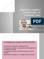 Controlo QuÍmico de Biofilmes na Cavidade Oral