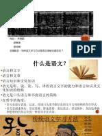 Minggu 1 按照所搜集有关语文概念的资料,进行小组讨论辨析:.pptx