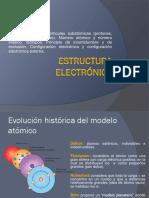 estructura atómica final