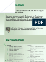 15minute Math Decimals