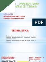 ETICA  TEORIA
