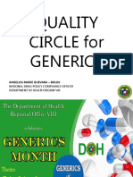 Quality Circle for Generics