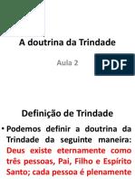 A Doutrina Da Trindade - PDF