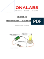 SonaLabs Electronics 101 Chapter 01 Electricity Basics