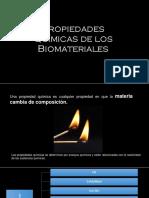 Propiedades Químicas de Los Biomateriales