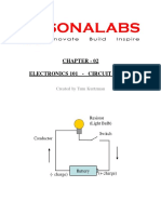 SonaLabs Electronics 101 Chapter 02 Circuit Basics