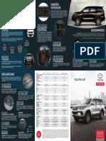 Ficha técnica Toyota fortuner