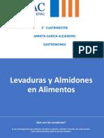 Levaduras y Almidones