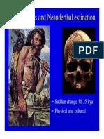 Cromagñon vs Neanderthal