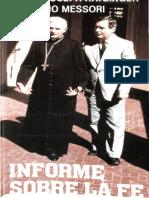 Ratzinger, Joseph - Informe Sobre La Fe