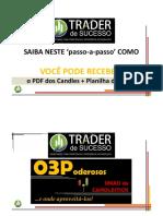 Passo a Passo_ACESSO Aos Materiais PDF Candles e PLAN Trades