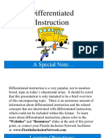 Differentiated Instruction Word