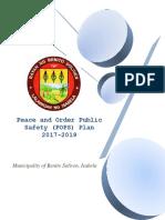 Benito Soliven Pops Plan 2017-2019