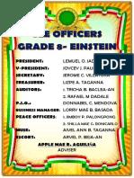 Classroom Officer