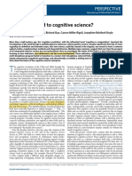 Núñez Et Al - 2019 - What Happened to Cognitive Science