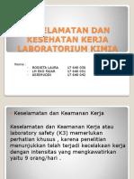 K3 lab. Kimia