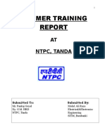 290061125-Summer-Training-Report-on-NTPC-Tanda-Ambedkar-Nagar.doc