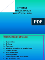 Effective Implementation of Pain 5vs