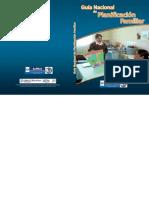 Guia Nacional de Planificacion Familiar Guatemala