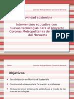 Intervención educativa con TIC en un proyecto de movilidad sostenible