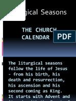Liturgy and Liturgical Season