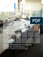 Reforming the Doctorate