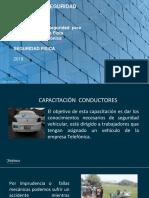 Ppt Capacitacion Conductores Tdp