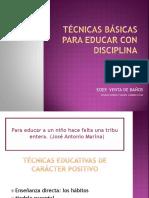 Tecnicas Basicas Para Educar Con Disciplina
