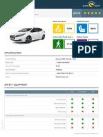 2019 Nissan Leaf Euro NCAP Report