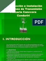 Construcción e Instalación de la Línea de Transmisión expo.ppt