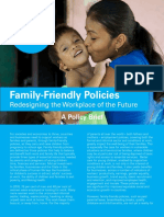 UNICEF Policy Brief Family Friendly Policies 2019