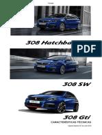 Ficha Tecnica Peugeot 308