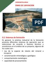 SISTEMAS de Lixiviación 2019-I
