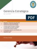 Gerencia Estratégica - Sem.03 - LUIS OTAKE - UNPRG - SISTEMAS