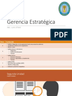 Gerencia Estratégica - Sem.06-07 - LUIS OTAKE - UNPRG - SISTEMAS 2019
