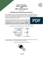 IRMC transistor Check