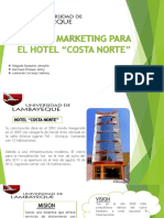 Marketing para el Hotel Costa Norte -  Chiclayo
